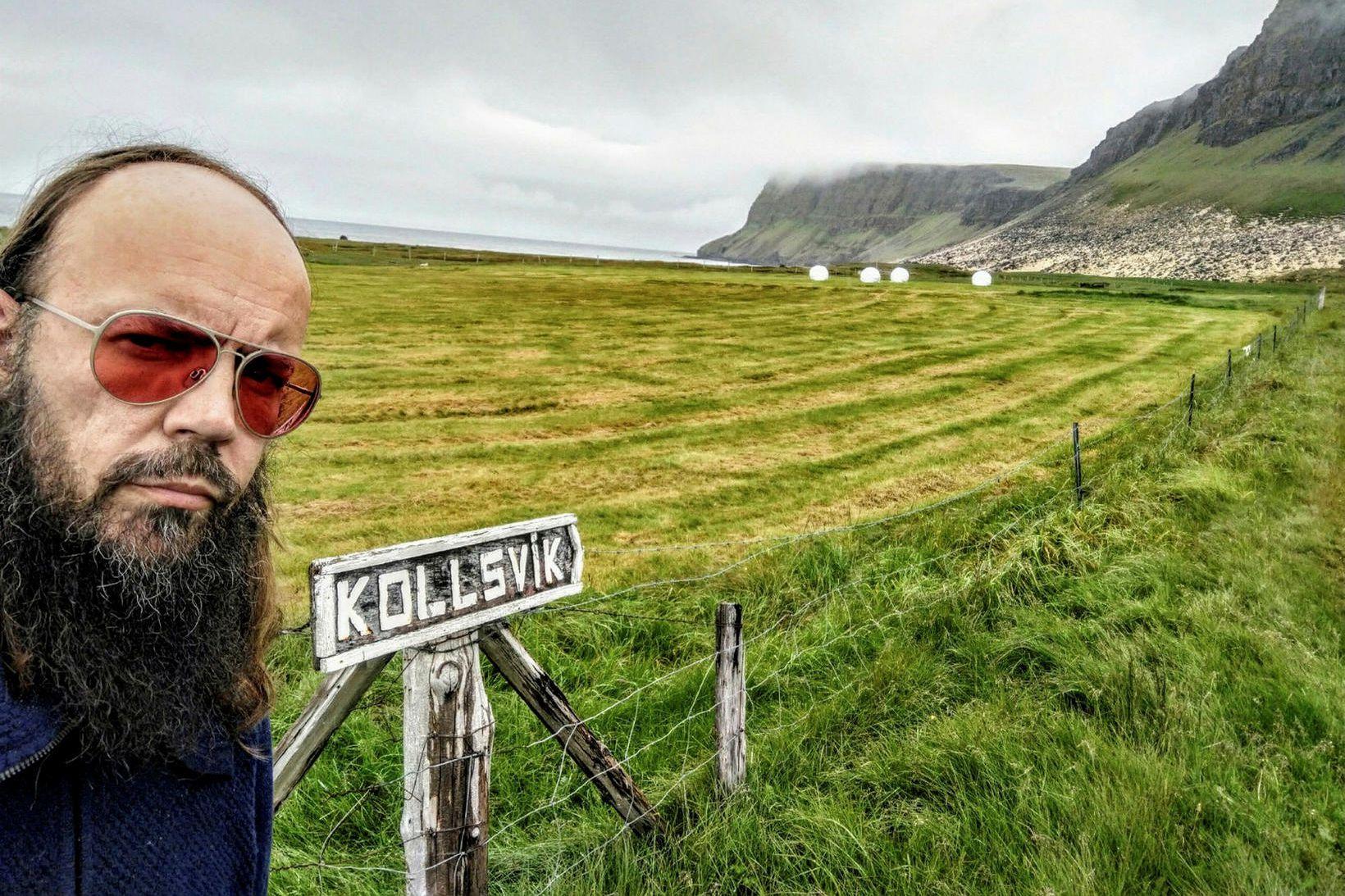 Flosi Þorgeirsson er gestur Snæbjörns Ragnarssonar í þættinum Snæbjörn talar …