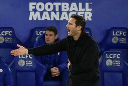 Frank Lampard var látinn taka pokann sinn á mánudaginn.