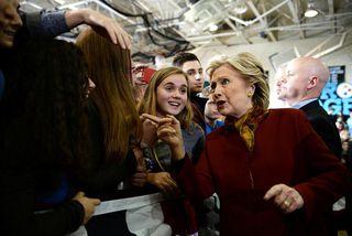 Hillary Clinton, forsetaframbjóðandi demókrata.