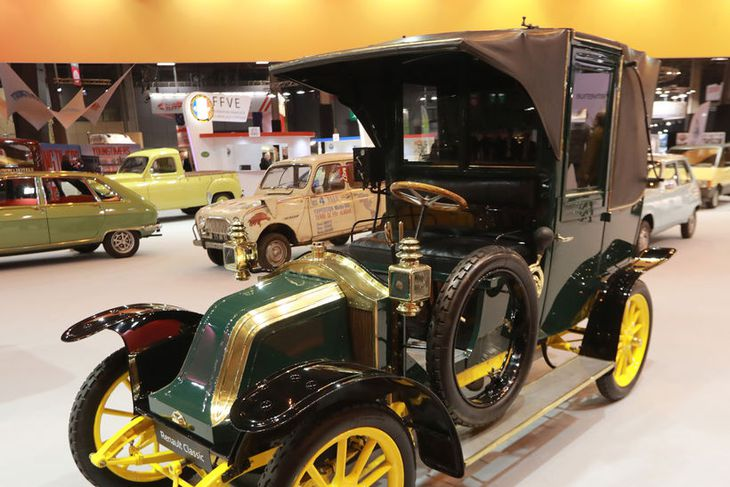 Renault Type AG1 frá 1910 á Parísarsýningunni