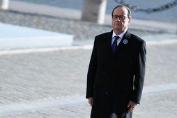 Francois Hollande forseti Frakklands.