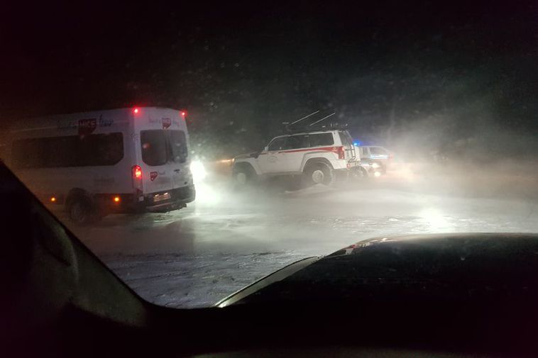 The storm is picking up in South East Iceland and will hit the entire country ...