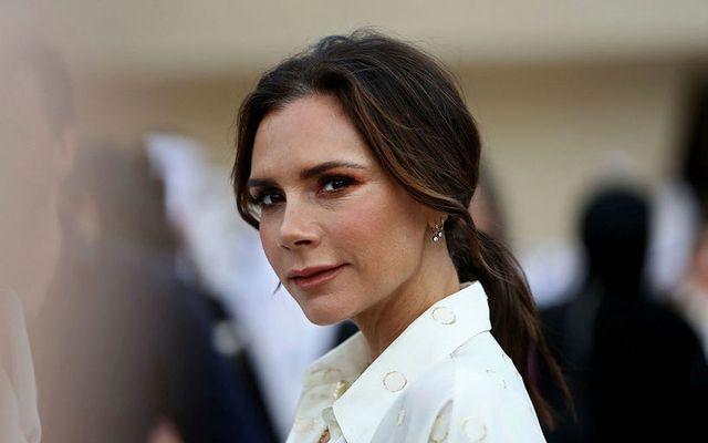 Victoria Beckham græddi vel á tónleikum Spice Girls.