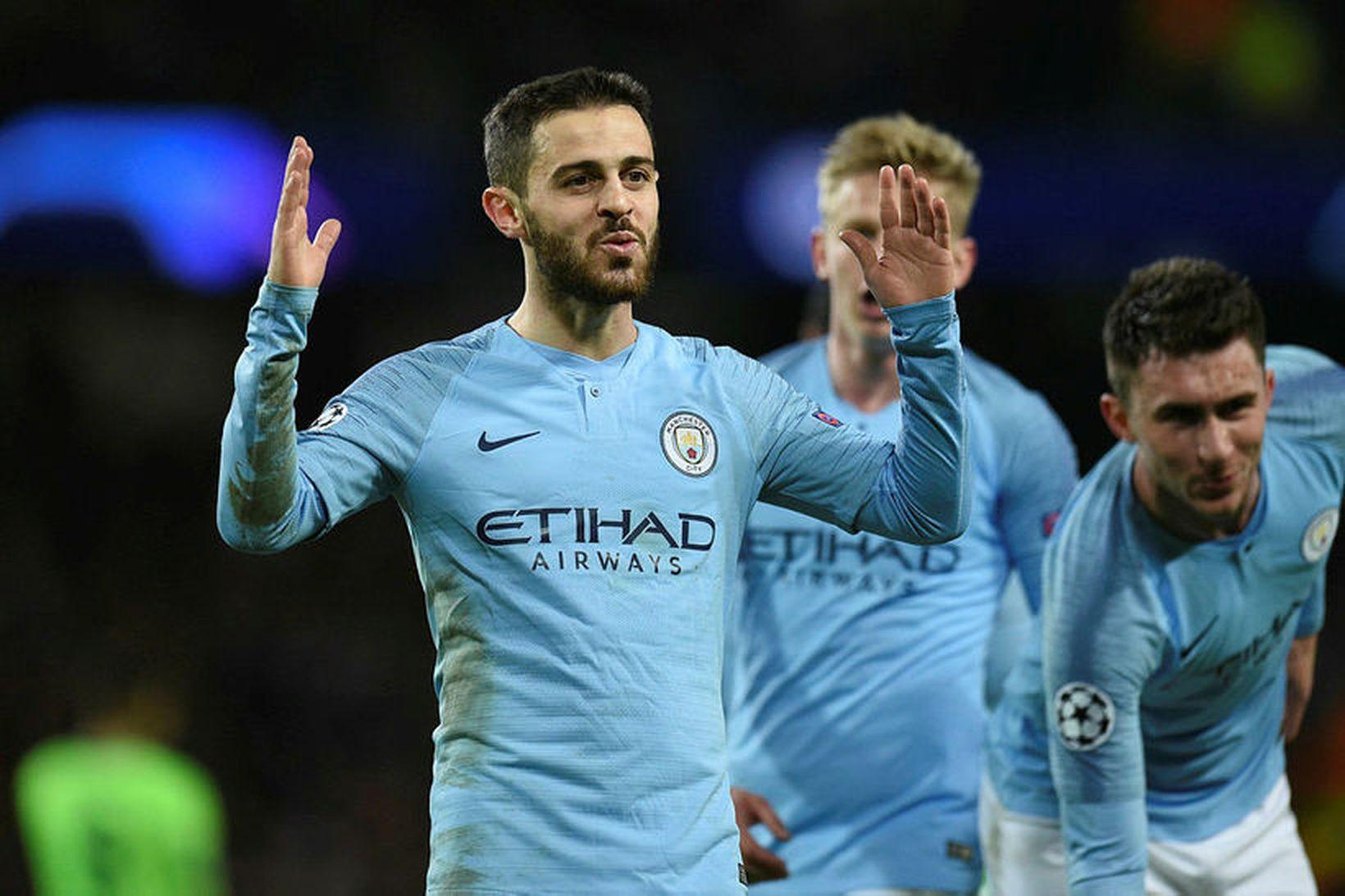 Bernardo Silva hefur átt góða leiktíð með Manchester City sem …