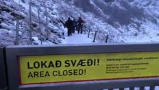 VIDEO: Tourists disregard warning signs at Gullfoss waterfall