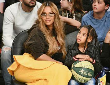 Beyoncé ásamt dóttur sinni Blue Ivy Carter.