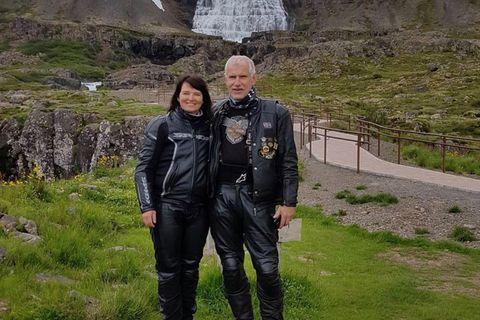 Jóhanna S. Sigurðardóttir og Finnur Einarsson voru virk í starfi HOG Chapter Iceland, samtökum eigenda …