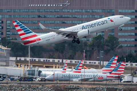 Atvikið átti sér stað um borð í vél American Airlines 2. maí.