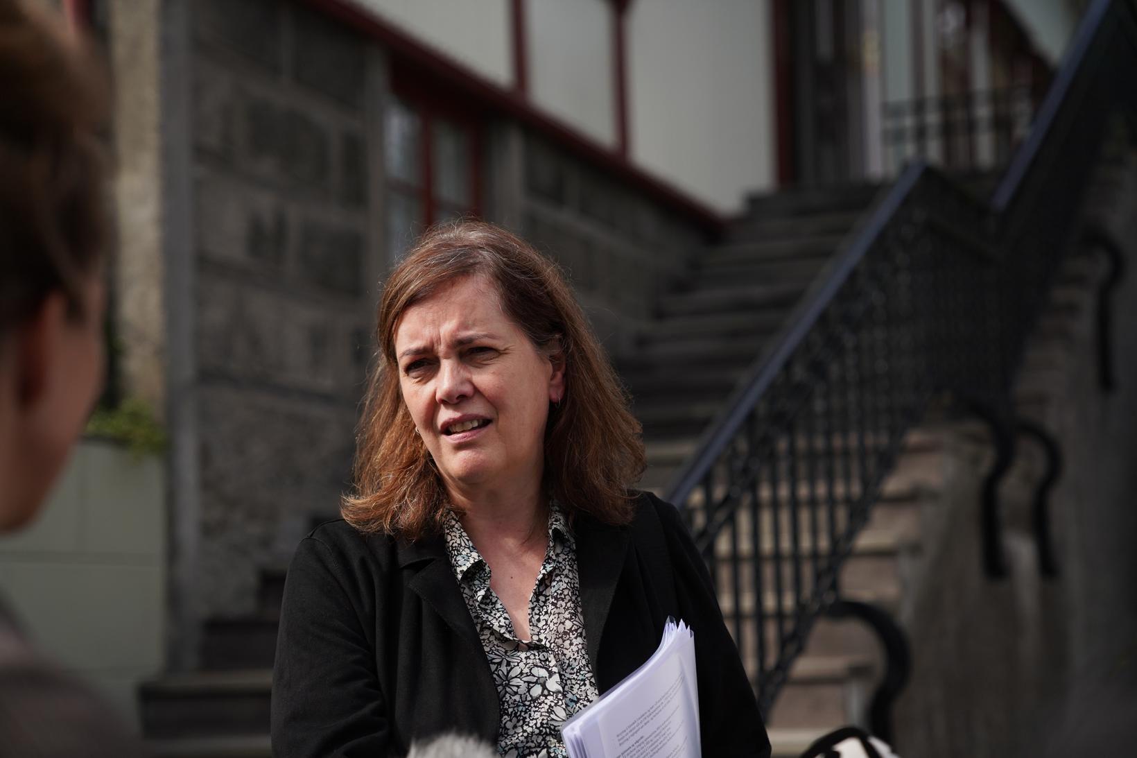 Svandís Svavarsdóttir heilbrigðisráðherra.