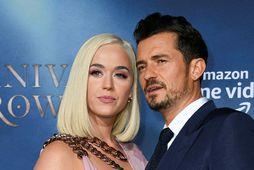 Katy Perry og Orlando Bloom.