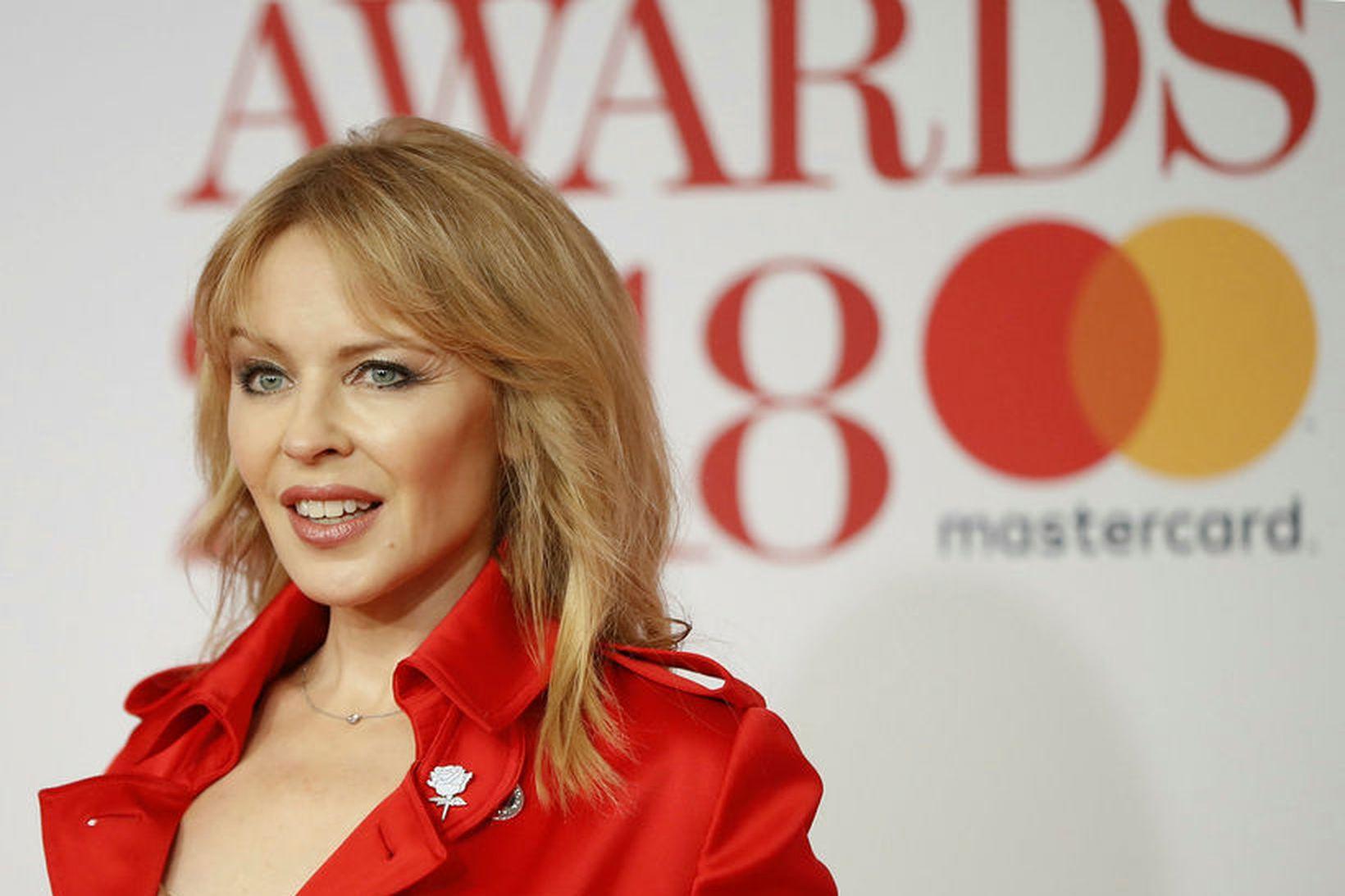 Kylie Minogue ætlar að flytja aftur heim til Ástralíu eftir …