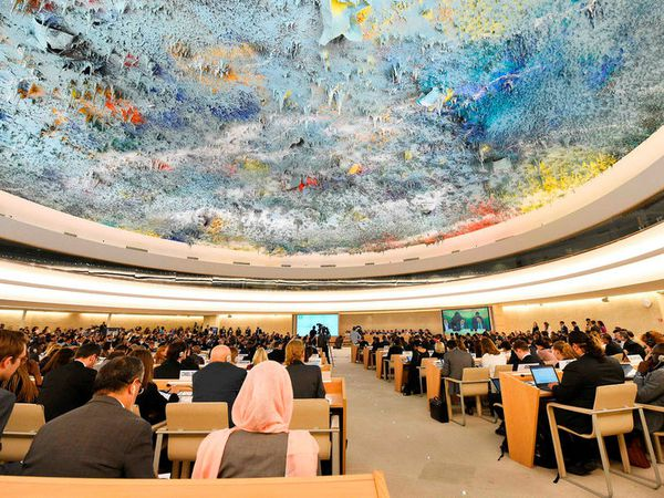 Ísland takes a seat at the UN Human Rights Council, replacing the United States.