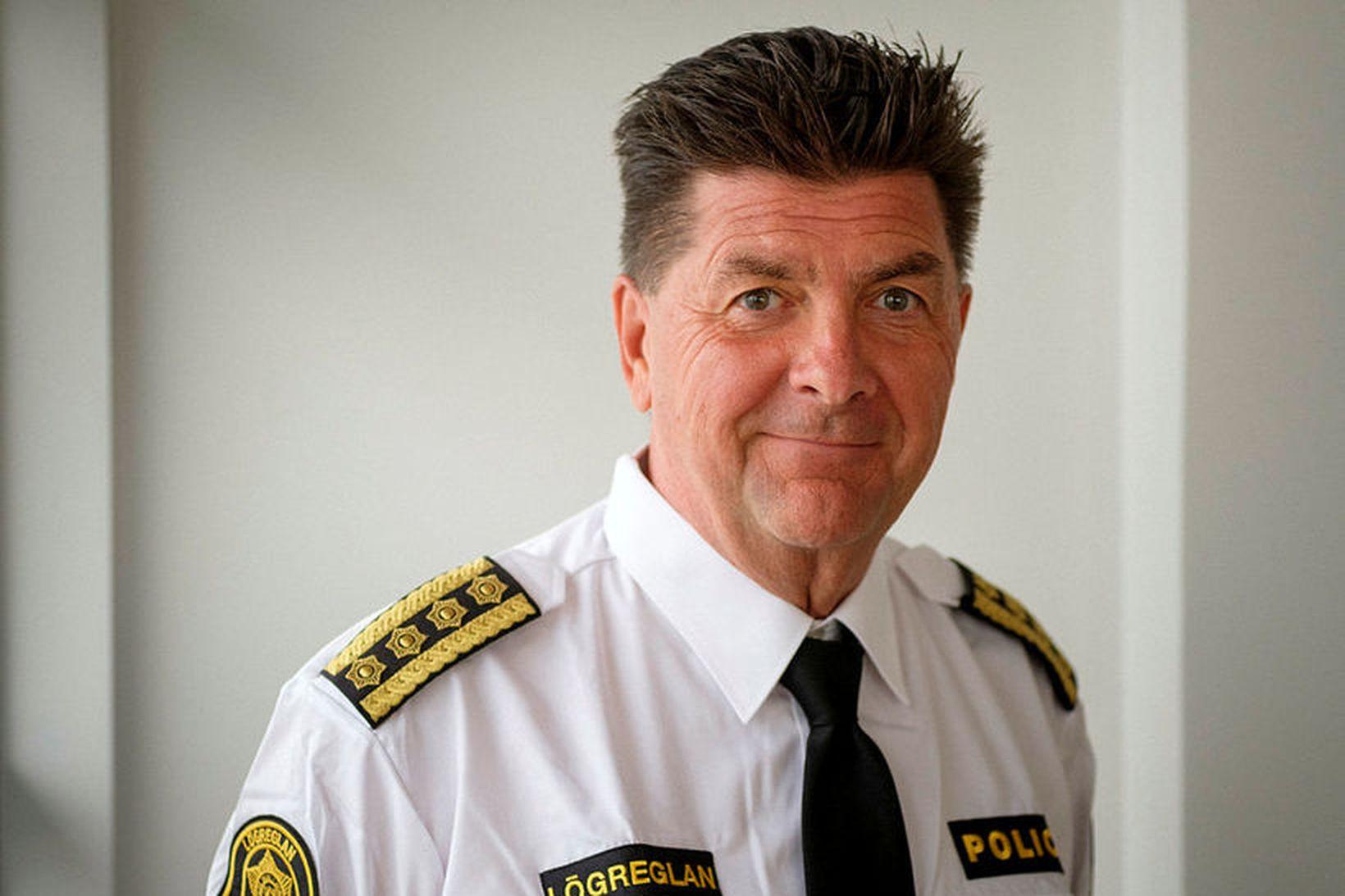 Haraldur Johannessen ríkislögreglustjóri.
