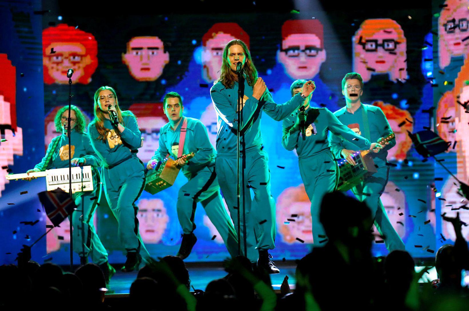 Sjáðu hvernig börn bregðast við Eurovision