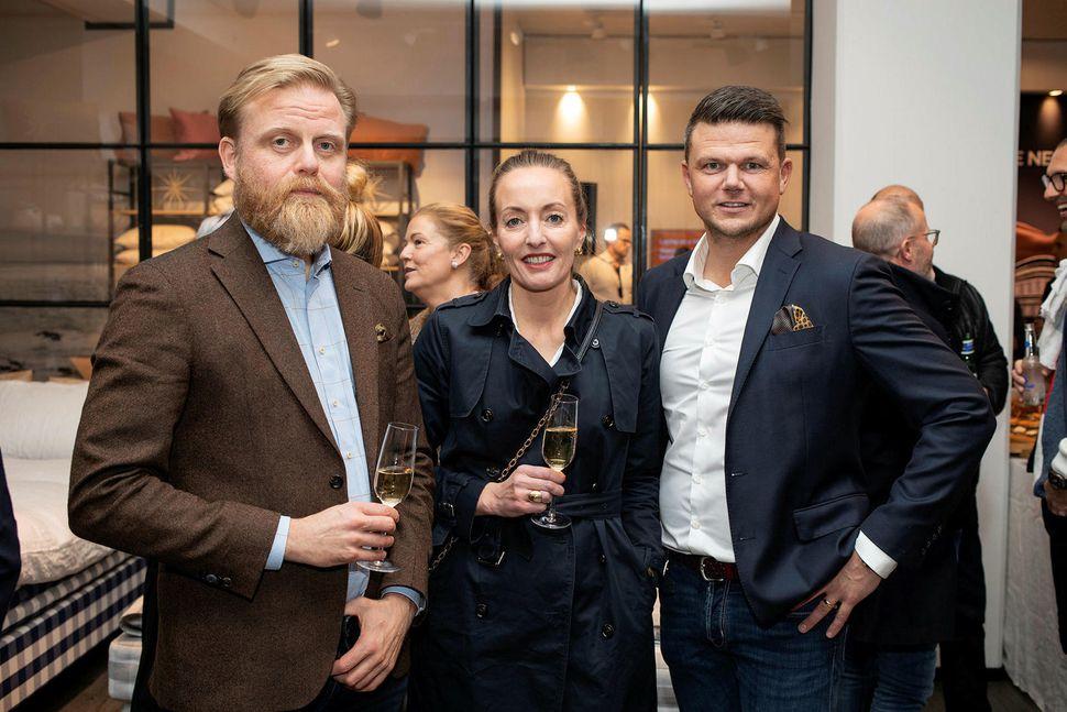 Ásgeir Jónsson, Helga Viðardóttir og Egill Reynisson.