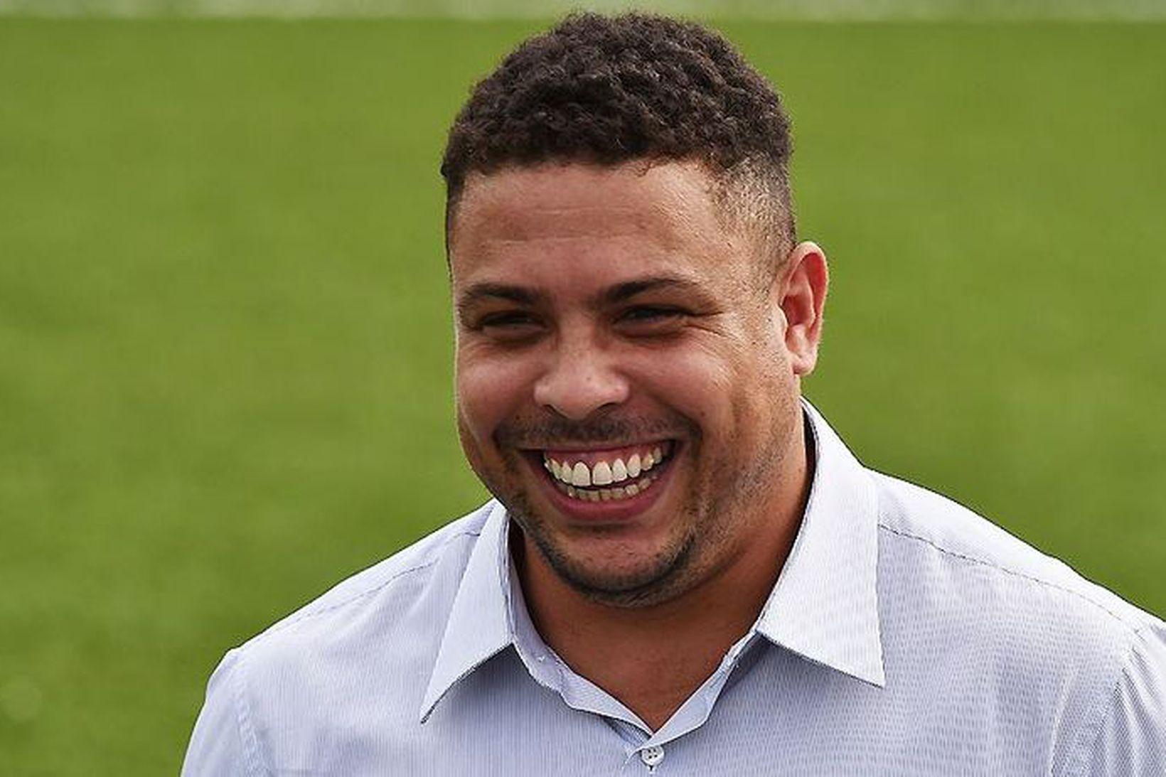 Brasilíska goðsögnin Ronaldo.
