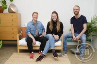 Studio Portland sem er Karen Ósk Magnúsdóttir, Sóley Kristjánsdóttir og Sölvi Kristjánsson. Stóllinn Kollhrif