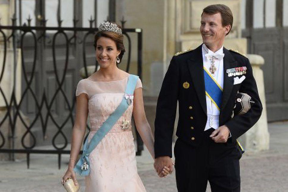 Jóakim Danaprins er gagnrýndur en eiginkona hans Marie prinsessa stendur ...