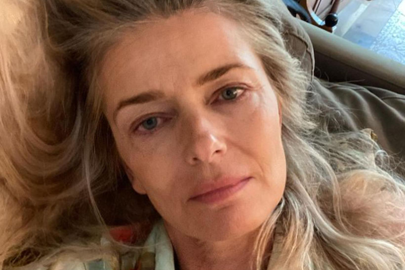 Paulina Porizkova fastar í 16 stundir á sólarhring.