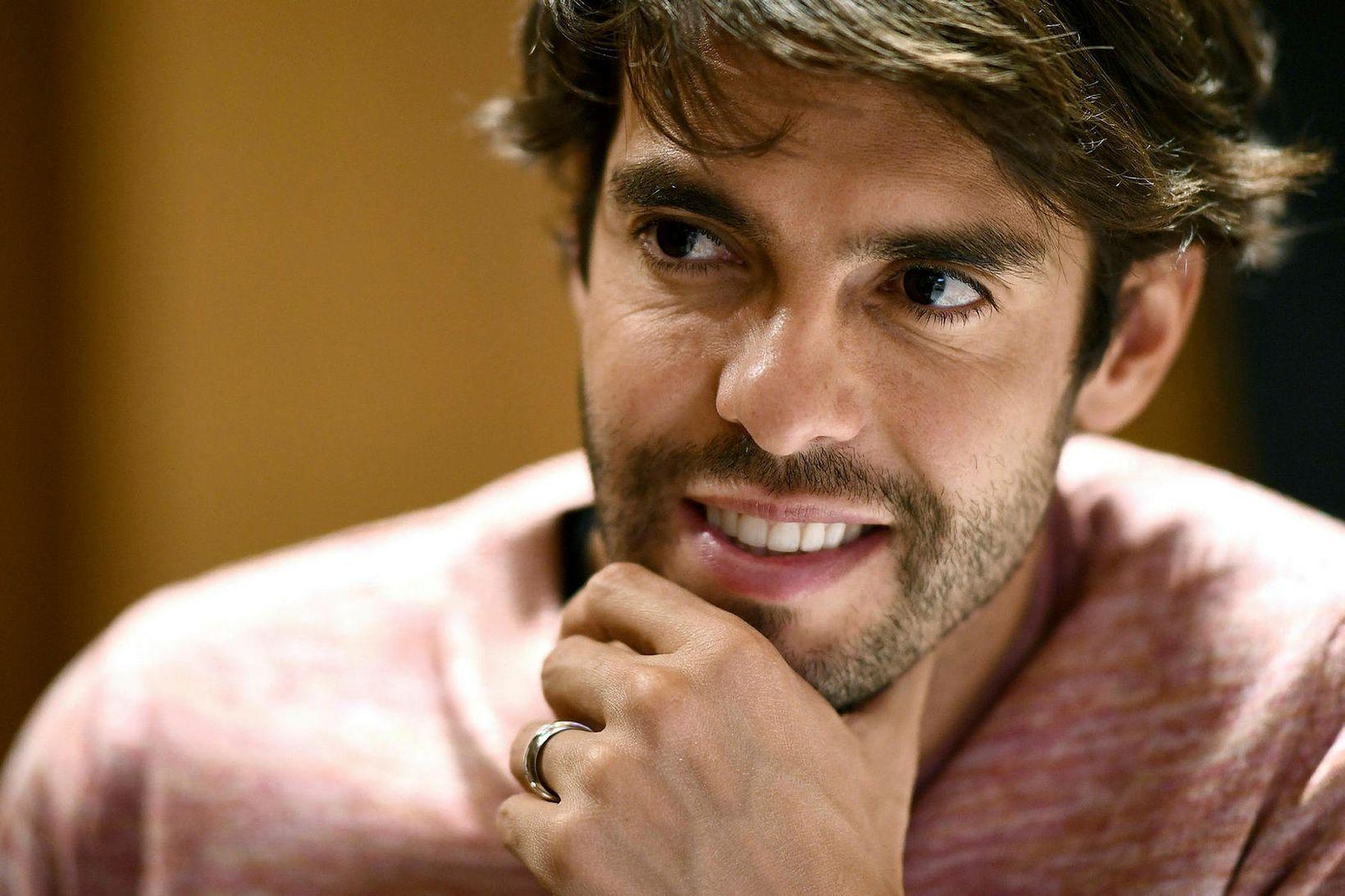 Kaká var einn besti leikmaður heims á sínum tíma.