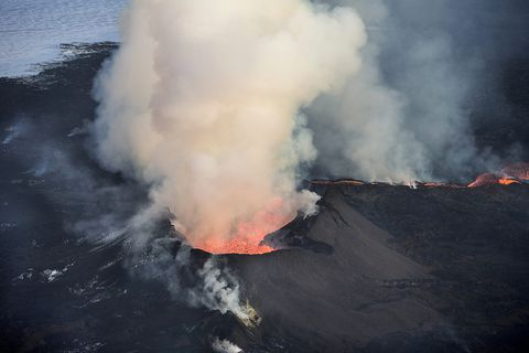 Bárðarbunga last erupted August 2014-February 2015.