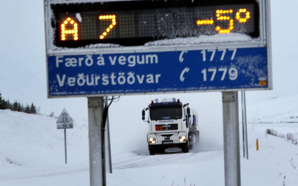 Við Þelamörk í Hörgárbyggð.