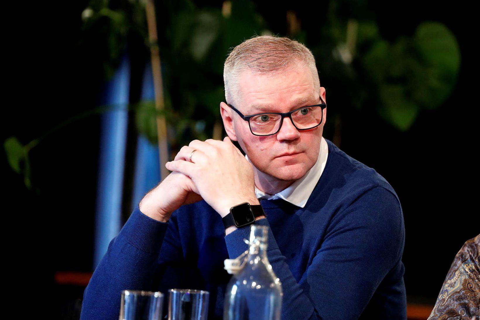 Valmundur Valmundsson, formaður Sjómannasambands Íslands, sagði í ræðu sinni í …