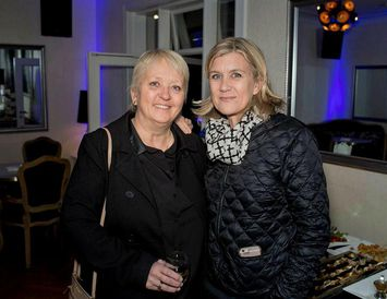 Ragnhildur Sverrisdóttir og Hanna Katrín Friðriksson.
