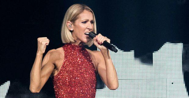 Íslenskar knattspyrnustjörnur sáu Celine Dion í Boston.