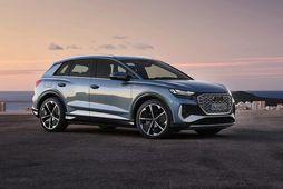Miklar vonir eru bundnar við hinn nýja Audi Q4 e-tron.
