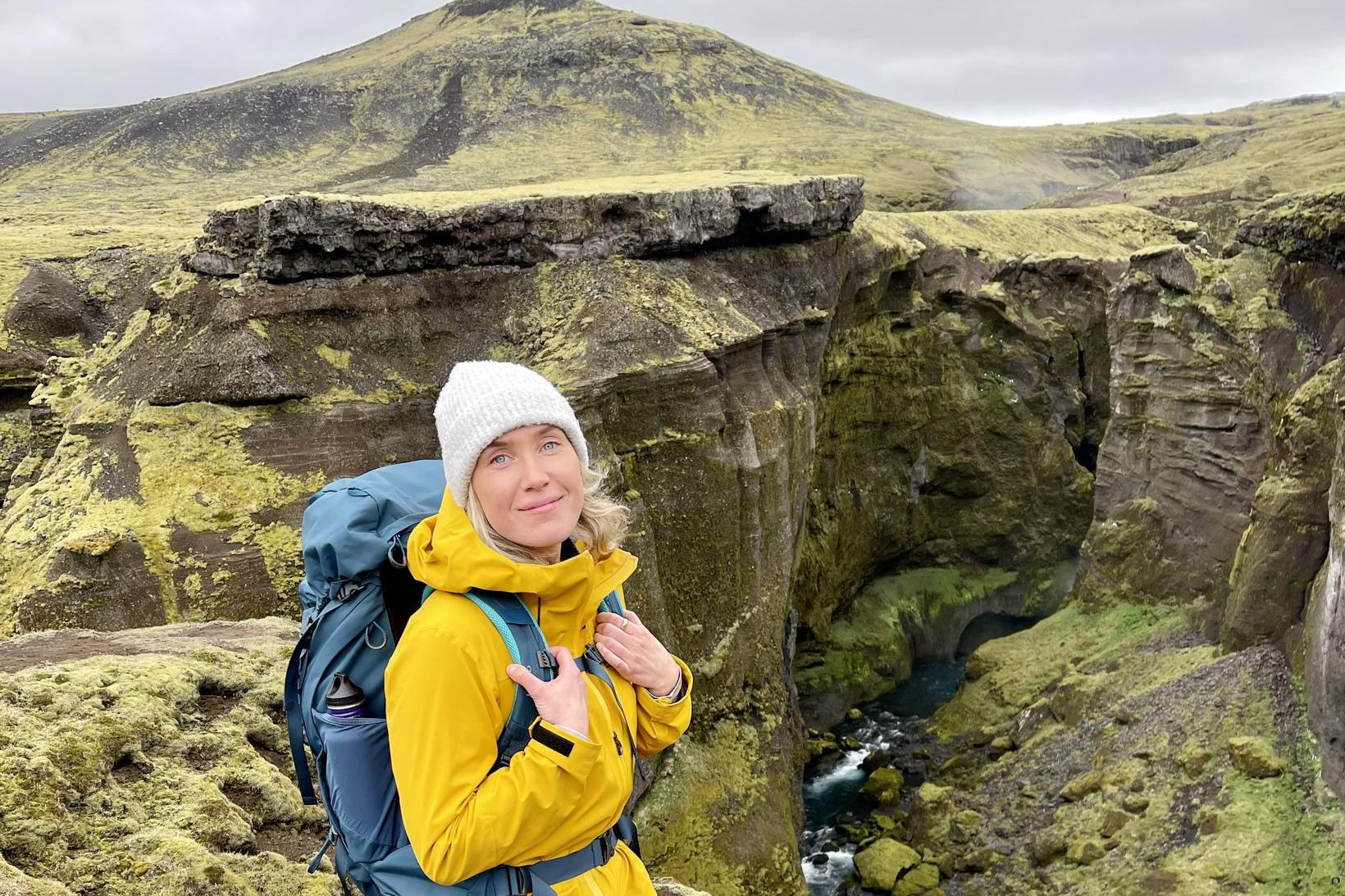 Saga Líf Friðriksdóttir hefur unnið sem leiðsögukona í sjö ár …