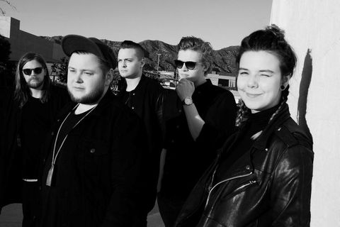Icelandic band Of Monsters and Men