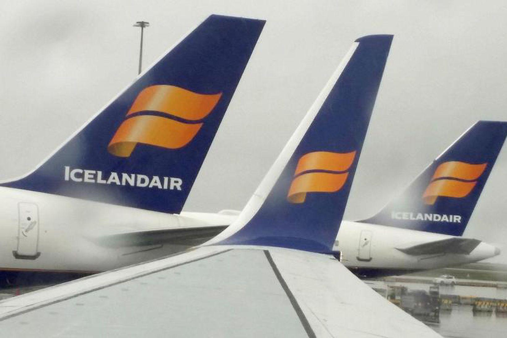 Veikindin hafi gert vart við sig í mörgum vélum Icelandair …