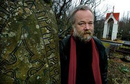 High Chieftain of the Ásatrú society, Hilmar Örn Hilmarsson conducted a sanctification ritual at the …