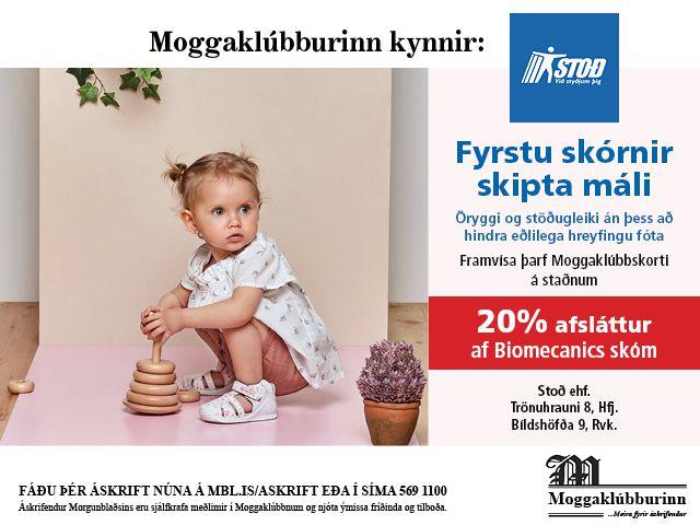 Stoð - Biomecanics barnaskór