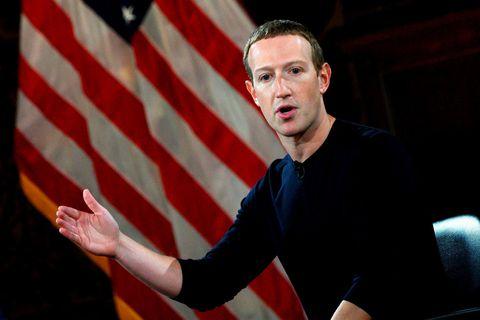 Mark Zuckerberg, forstjóri og stofnandi Facebook.