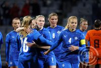 Ísland - Holland - Knattspyrna Kvenna