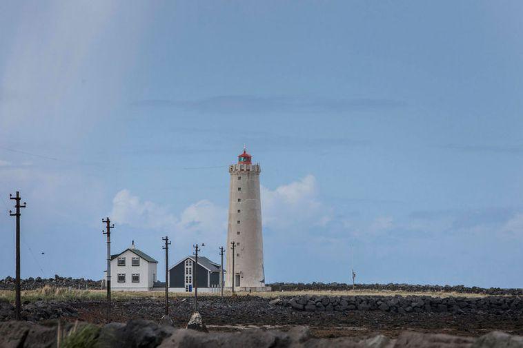 The lighthouse at Grótta.