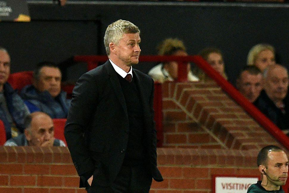 Ole Gunnar Solskjær knattspyrnustjóri Manchester United.