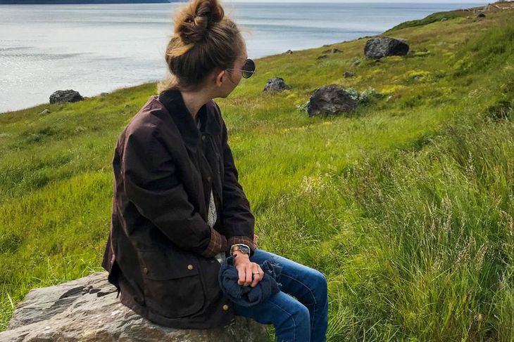 Katrín Björk Guðjónsdóttir er 24 ára í bataferli eftir tvær ...