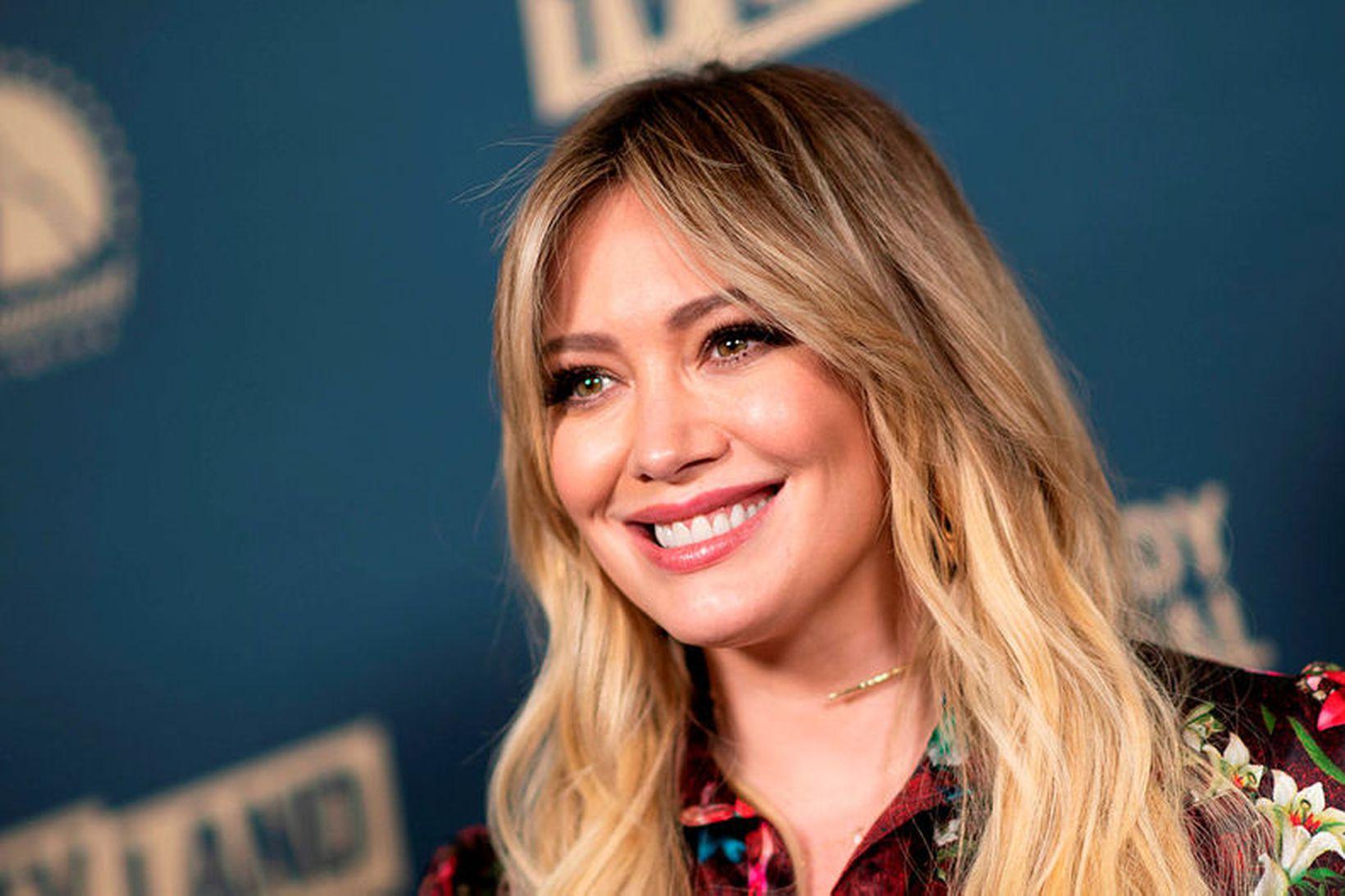 Hilary Duff á tvö börn.