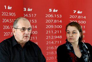 Björn Snæbjörnsson formaður Starfsgreinasambands Íslands og Drífa Snædal formaður ASÍ.