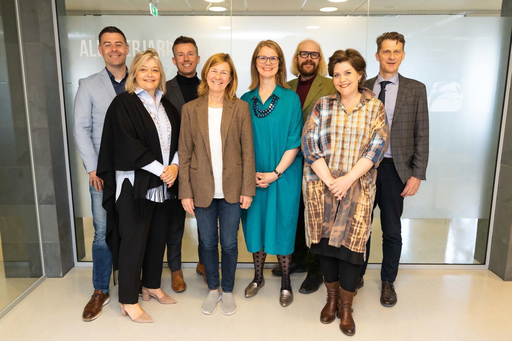 Stjórn UNICEF á Íslandi.