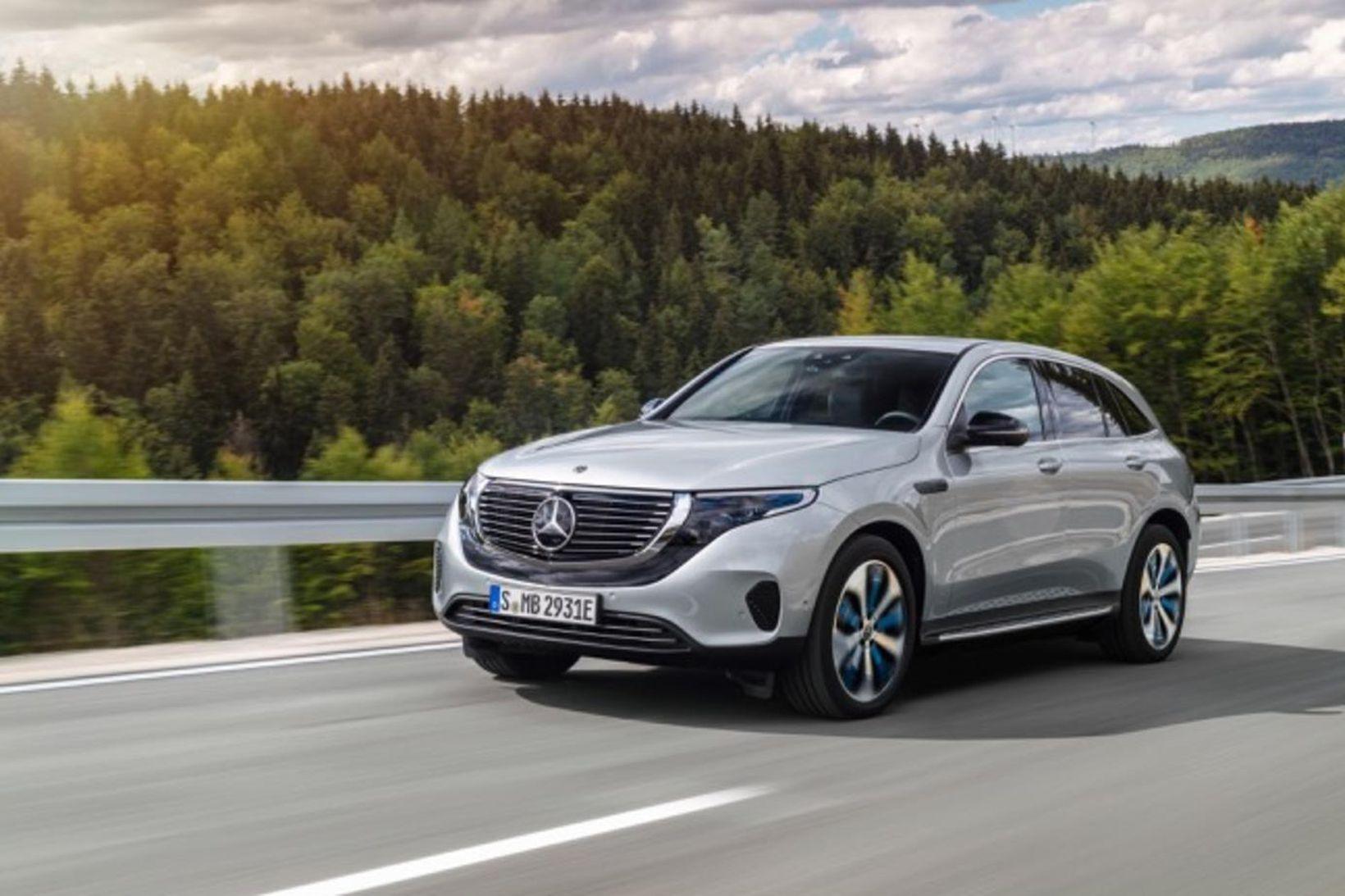 EQC rafbíll Mercedes-Benz.