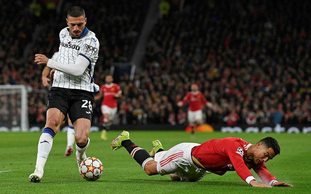 Merih Demiral og Cristiano Ronaldo eigast við í kvöld.