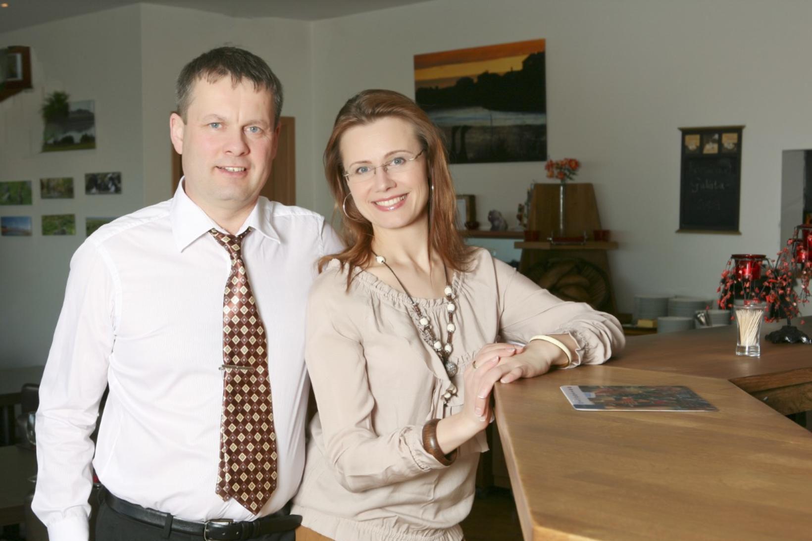 Björn Þór Kristjánsson og Sandra Kaubriene.