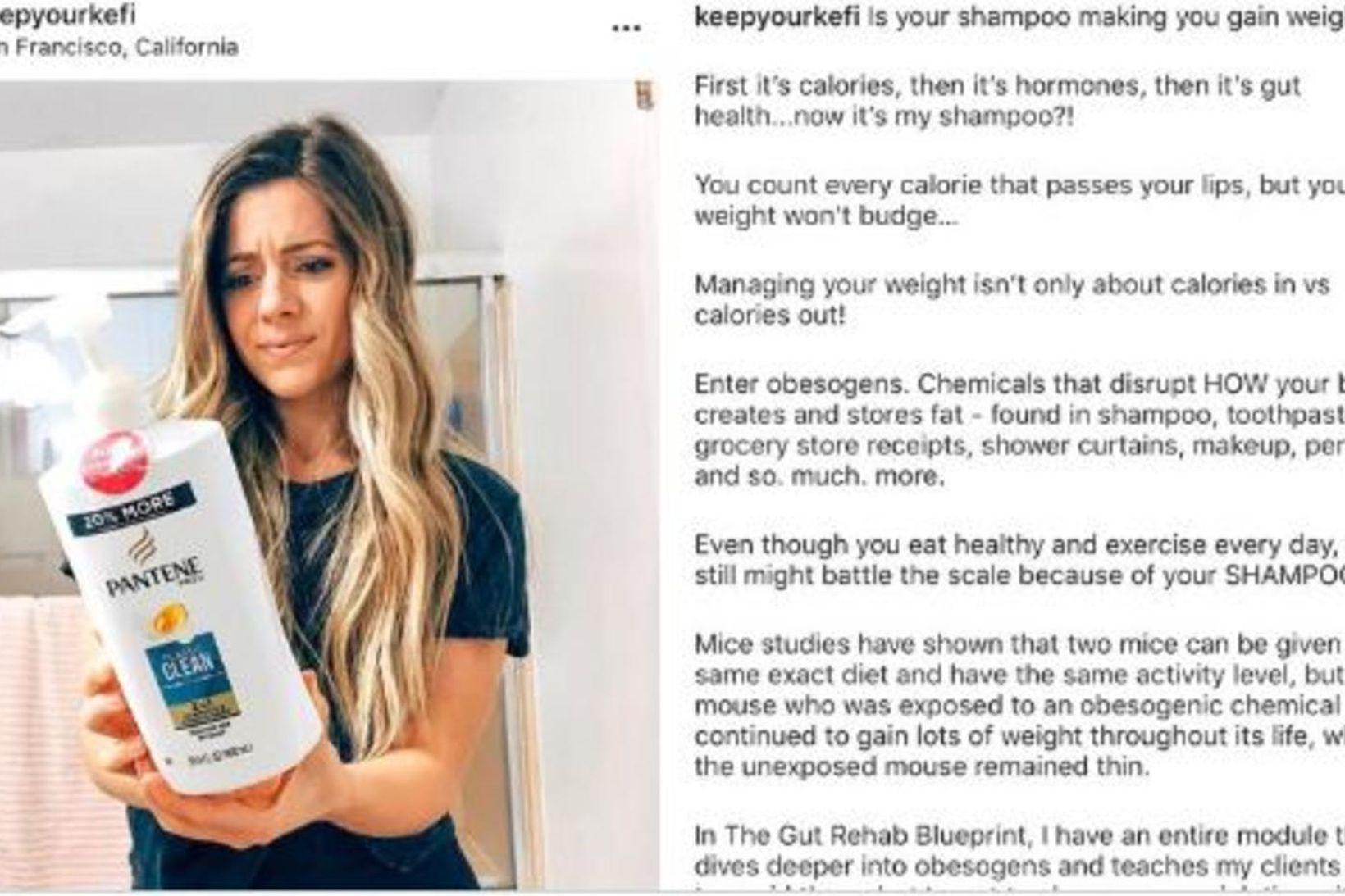 Færsla áhrifavaldsins Eleni Chechopoulos á Instagram hefur vakið athygli á …