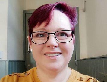 Sharon Spink var lengi með dóttur sína á brjósti.