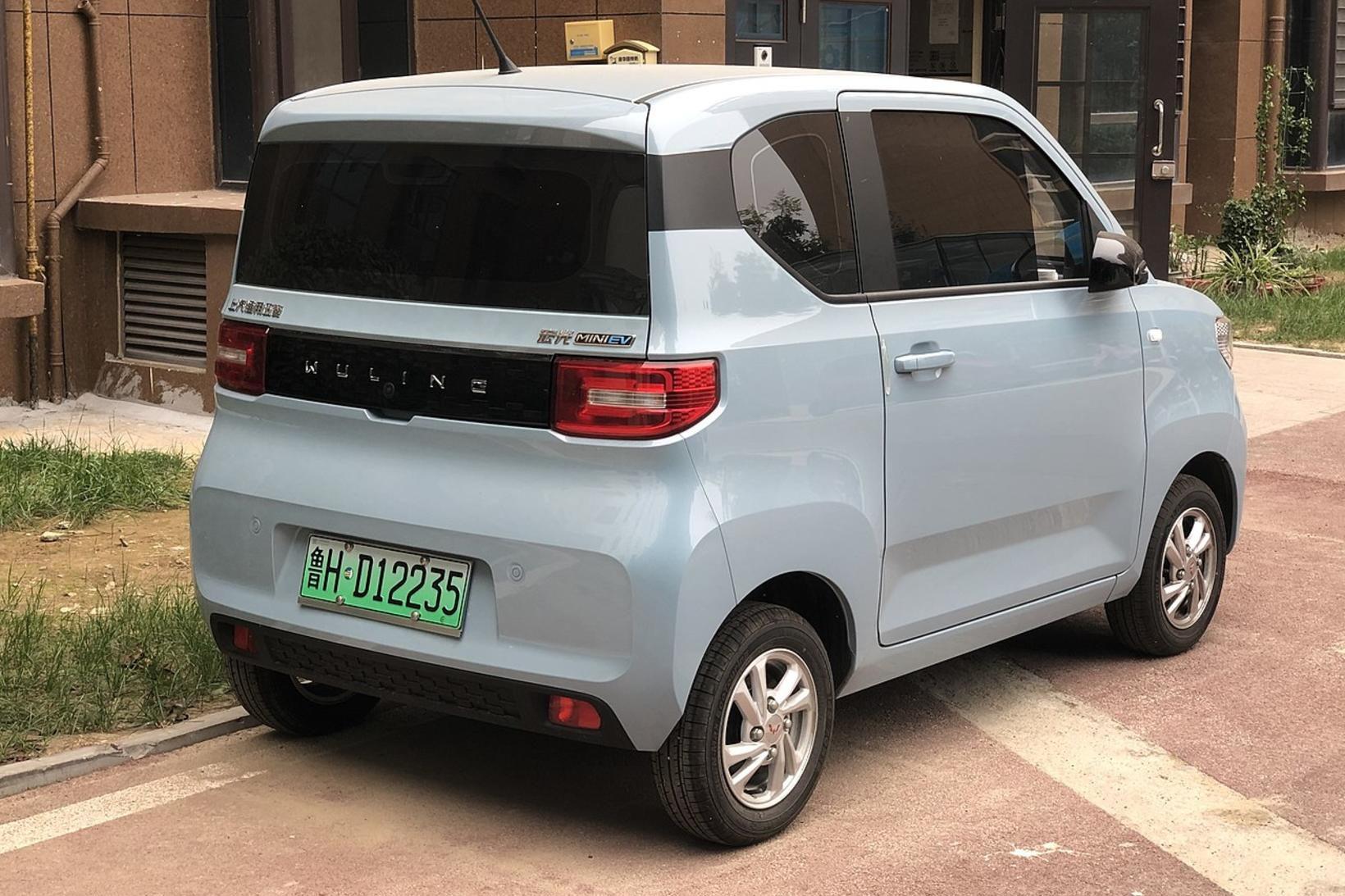 Hong Guang Mini EV fer sigurför um Kína um þessar …