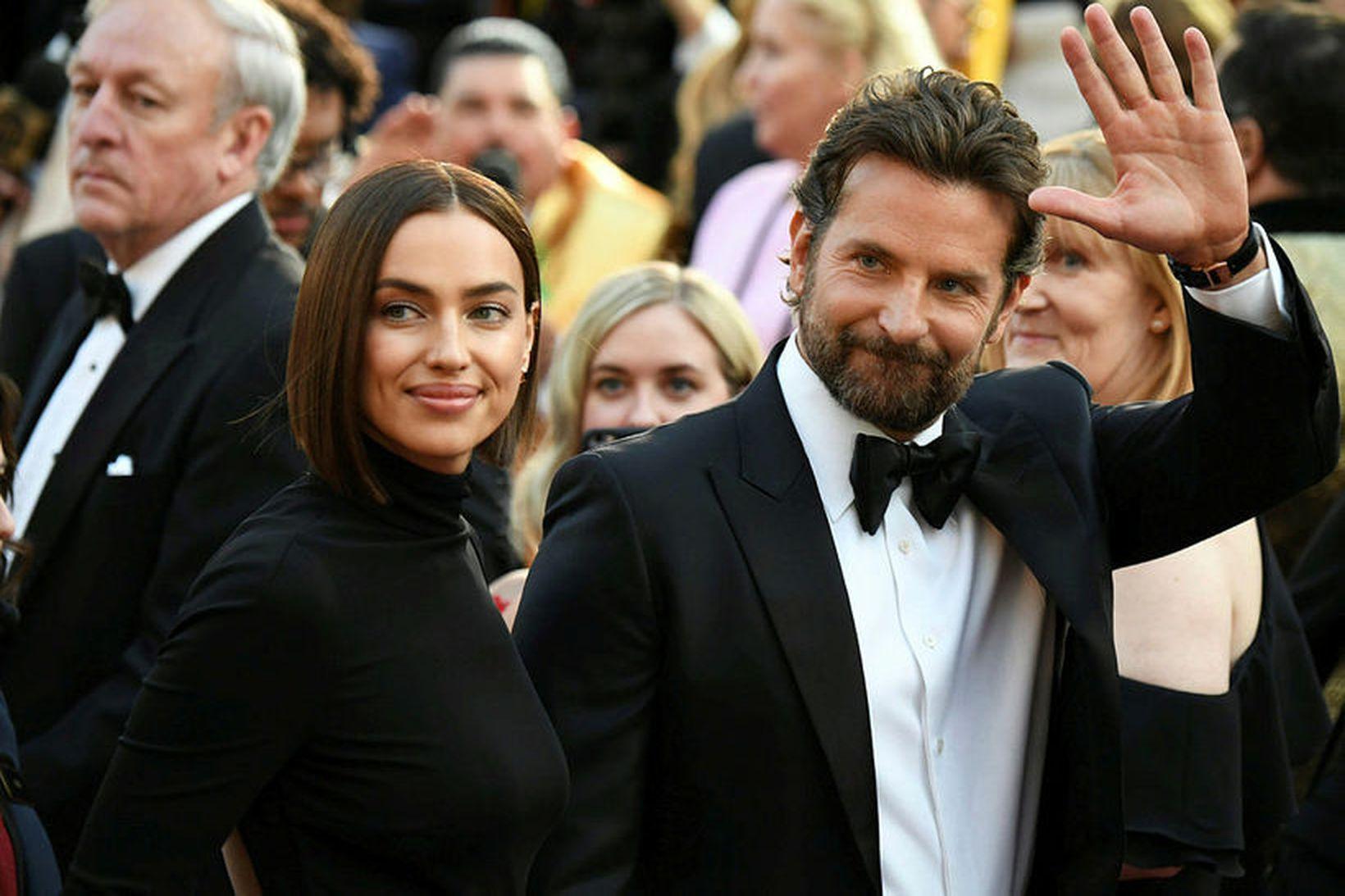 Irina Shayk og Bradley Cooper eiga eina dóttur.